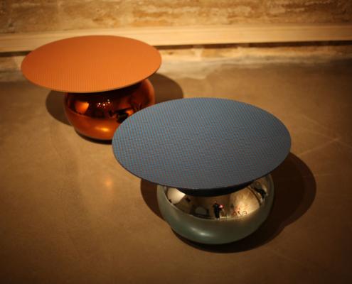Table basse MURSI pour Galerie GOSSEREZ